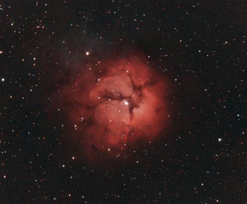 M 20, NGC 6514 - Trifid Nebula - in Sagittarius