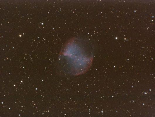 M 27, NGC 6853 - Dumbell Nebula - in Vulpecula